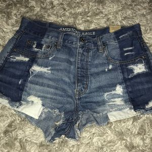 American eagle vintage high rise festival shorts
